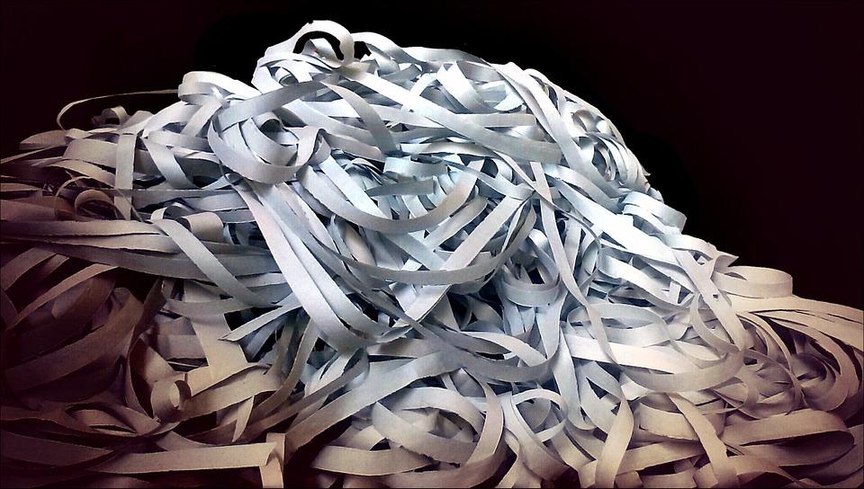 Destrucción de documentos, los motivos del servicio ... - photo#36