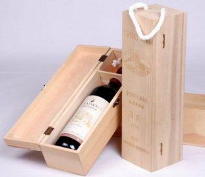 cajas de madera para vino - Licores Bogotá